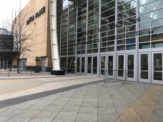 Monroe Ave. entrance to DeVos Place Convention Center