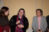 Chelsea Johnson, Katherine Willson and Shirley DeBoer